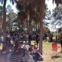 Photo taken at John Chesnut Park by Jay K. on 11/18/2012