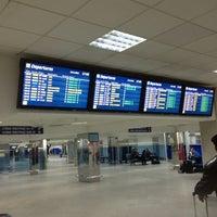 Photo taken at Terminal B (KBP) by Victoria on 11/18/2012
