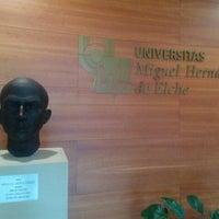 Photo taken at UMH Rectorado by Daniel G. on 10/30/2015
