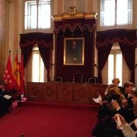 Photo taken at Ayuntamiento de Alcalá de Henares by Andrés on 2/9/2014