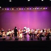Photo taken at Teatro Vallarta by Heidi P. on 8/11/2013