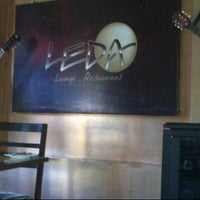 Photo taken at Leda Lounge Restaurant by Angie S. on 1/8/2013