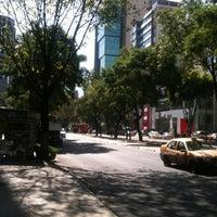 Photo taken at Av. Revolución by Yess C. on 11/20/2012