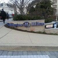 Photo taken at Washington Hilton by Davut S. on 2/25/2013