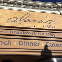 Photo taken at Alana's Cafe by Adam B. on 10/9/2016