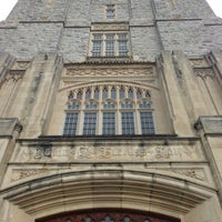 Photo taken at Burruss Hall by Bill W. on 7/6/2013
