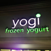 Photo taken at Yogi Frozen Yogurt by Agustin L. on 2/24/2013