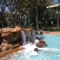 Photo taken at Sheraton Mirage Resort And Spa by Aleksandr R. on 1/20/2013