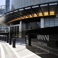Photo taken at Armani Hotel Dubai by Magazine H. on 11/29/2012