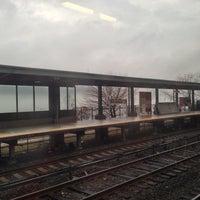 Photo taken at Metro North - Greystone Train Station by Ernesto M. on 12/10/2012