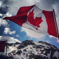 Photo taken at Whistler Mtn. Peak by Justin Y. on 7/5/2013