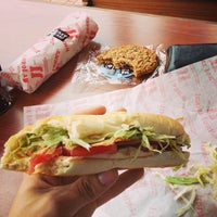 Photo taken at Jimmy John's by Marco G. on 8/6/2013
