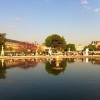 Photo taken at Tuileries Garden by Sebastian H. on 4/24/2013