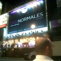 Photo taken at Teatro El Nacional by Camila C. on 11/21/2012