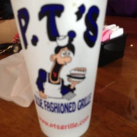 Photo taken at P.T.'s Olde Fashioned Grille by Emily M. on 11/21/2012