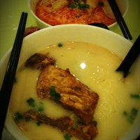Photo taken at Home Made Fish Head Noodles by GL N. on 3/15/2013