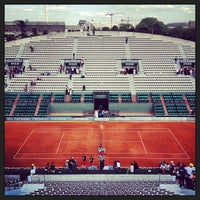 Photo taken at Court Suzanne Lenglen by Nicolas D. on 6/5/2013
