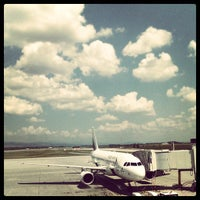 Photo taken at Sofia Airport (SOF) by Bebo H. on 7/4/2013