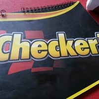 Photo taken at Checker's by Armando M. on 1/1/2013