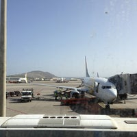 Photo taken at Gran Canaria Airport by Harri T. on 1/5/2013