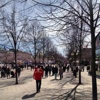 Photo taken at Kungsträdgården by Natalie O. on 4/22/2013