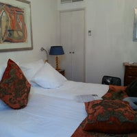 Photo taken at Ambassade Hotel by Yasmine on 2/8/2013