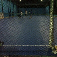 Photo taken at YPKP Indoor Soccer Center by Febrina M. on 4/11/2014