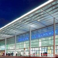 Photo taken at Berlin Ostbahnhof by Flinkster on 12/16/2012