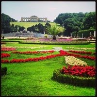 Photo taken at Schonbrunn Palace by Leigh Ann S. on 6/23/2013