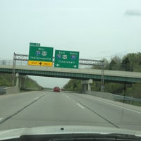 Photo taken at I-74 Exit 5 & I-275 Exit 25 by Samantha S. on 4/23/2013