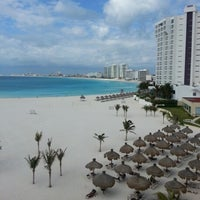 Photo taken at Dreams Cancun Resort & Spa by Shirley V. on 4/7/2013