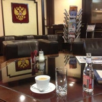 Photo taken at Officials and Delegations Lounge by Sergey G. on 4/14/2012