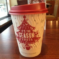 Photo taken at Costa Coffee by Vicky S. on 11/27/2012