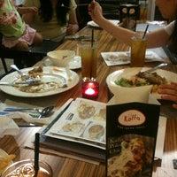Photo taken at Kaffa Kafe by Angelina L. on 1/13/2013