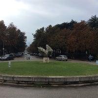 Photo taken at Stazione Faenza by Alex E. on 9/4/2014