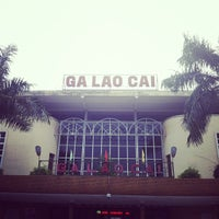 Photo taken at Ga Lào Cai (Lao Cai Station) by Hùng L. on 5/30/2013