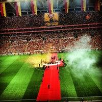 Photo taken at Türk Telekom Arena by Dilay Y. on 7/13/2013
