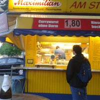 Photo taken at Maximilian Currywurst by Jörg B. on 4/27/2014