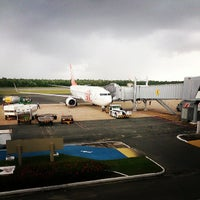 Photo taken at Aeroporto Internacional de São Luís / Marechal Cunha Machado (SLZ) by Rodrigo M. on 6/22/2013
