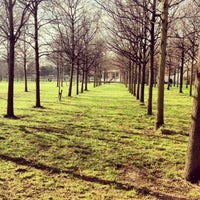 Photo taken at Thames Barrier Park by Veronika B. on 2/17/2013