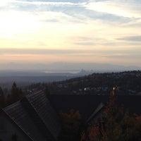Photo taken at Cougar Mountain City View by David M. on 10/7/2013