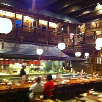 Photo taken at Gonpachi Nishiazabu by Donghoon S. on 10/5/2012