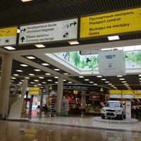 Photo taken at Terminal E by Ksenia K. on 4/7/2013