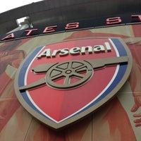 Photo taken at Emirates Stadium by Jenny (. on 5/9/2013