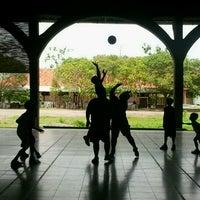 Photo taken at SMP Pangudi Luhur 1 Yogyakarta by Refo W. on 12/16/2012