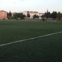 Photo taken at Abdurrahman Temel Futbol Sahası by Enes Y. on 5/22/2013