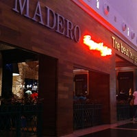Photo taken at Madero Burger & Grill by Joygler P. on 3/2/2013