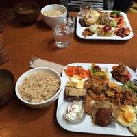 Photo taken at Midorie Cafe by Masako K. on 3/8/2015