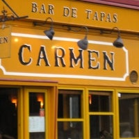 Photo taken at Carmen Bar de Tapas by Spotted by Locals - city guides by locals on 3/9/2015