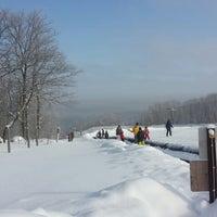 Photo taken at Indianhead Mountain Resort by Kait B. on 2/16/2014